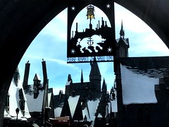 Archway To The Wizarding World Of Harry Potter