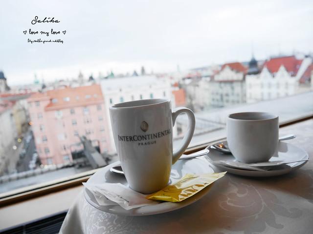 布拉格夜景景觀餐廳推薦洲際酒店晚餐 (26)