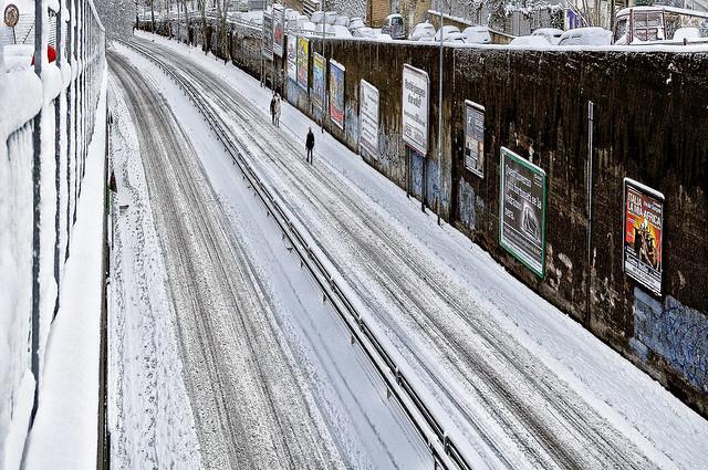 snow in Rome 3