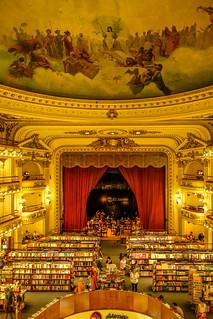 Buenos Aires: el Ateneo Grand Splendid bookstore