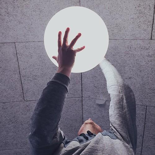 Die elektrische #Sonne in der Hand.