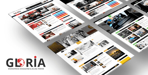 Gloria WordPress Theme free download
