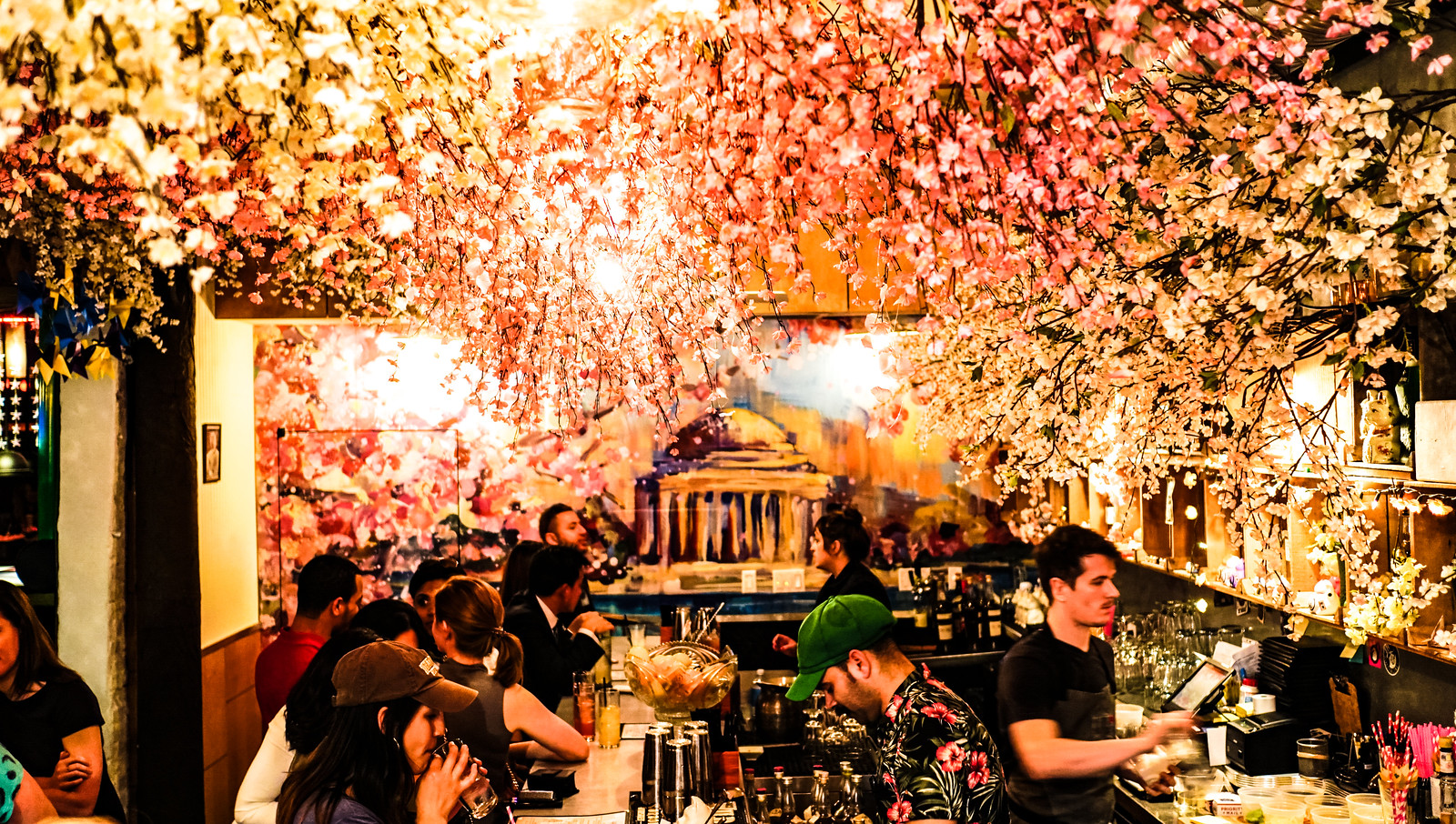 2017.04.11 Cherry Blossom Pop-up Bar, Washington, DC USA 02286