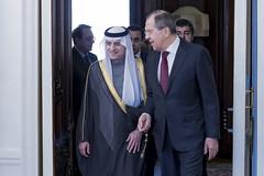 С.Лавров и А.Аль-Джубейр | Sergey Lavrov & Adel Al-Jubeir