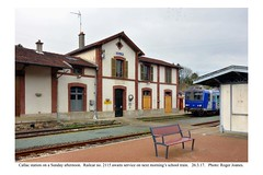 Callac station. 26.3.17
