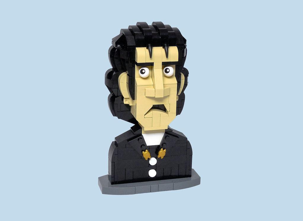 Jesse Custer (custom built Lego model)
