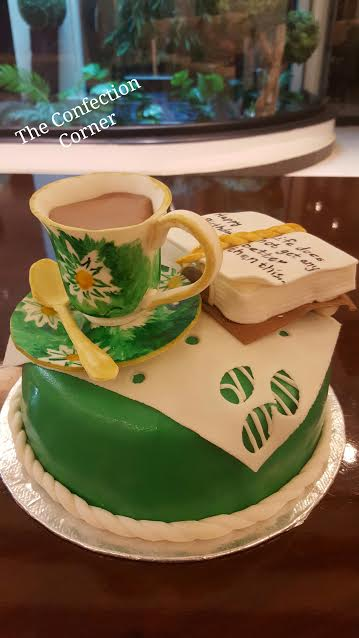 Cake by Nayab Naveed of The Confection Corner