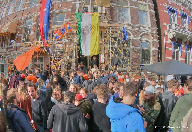 Student Kingsday,Groningen stad ,the, Canon EOS 750D, Canon EF 8-15mm f/4L Fisheye USM