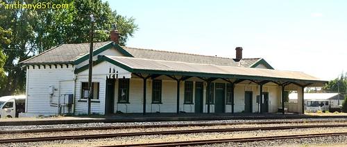 Mataura Railway Station.
