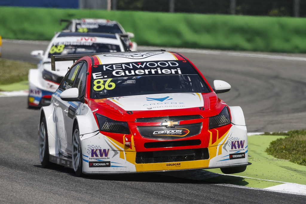 86 GUERRIERI Esteban (arg) Chevrolet RML Cruze team Campos racing action during the 2017 FIA WTCC World Touring Car Race of Italy at Monza, from April 28 to 30  - Photo Francois Flamand / DPPI