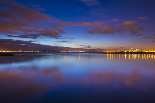 Barassie Beach - Gloaming by MJSFerrier