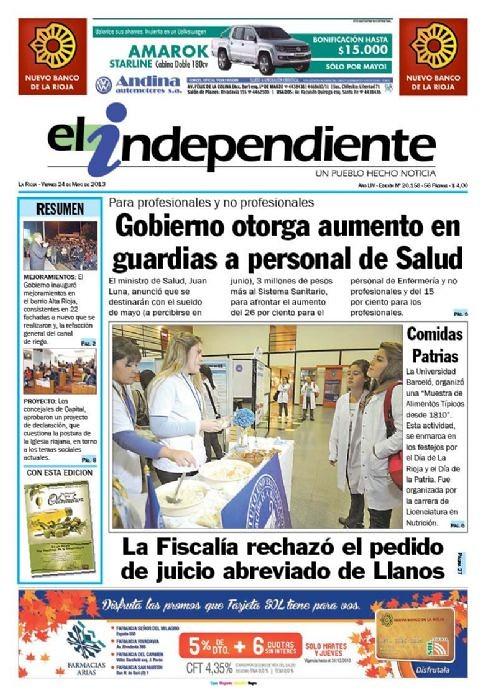 2013-05-24 Muestra Nutrición La Rioja - El Independiente