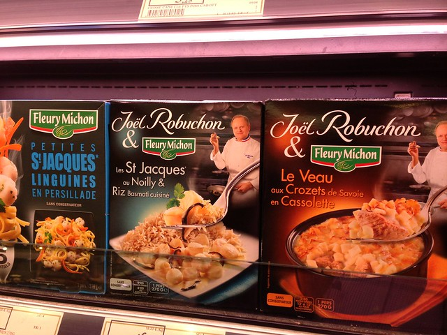 TV Dinners a la Robuchon