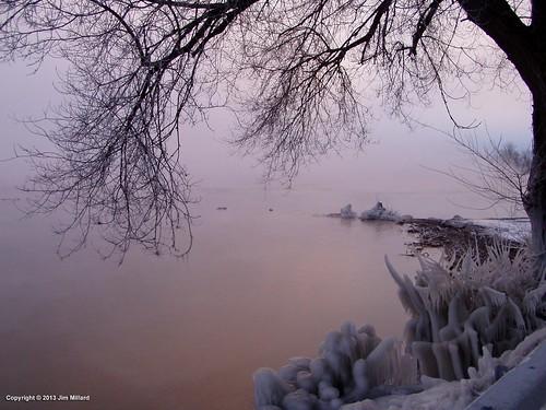 winter vermont scenic lakechamplain southhero