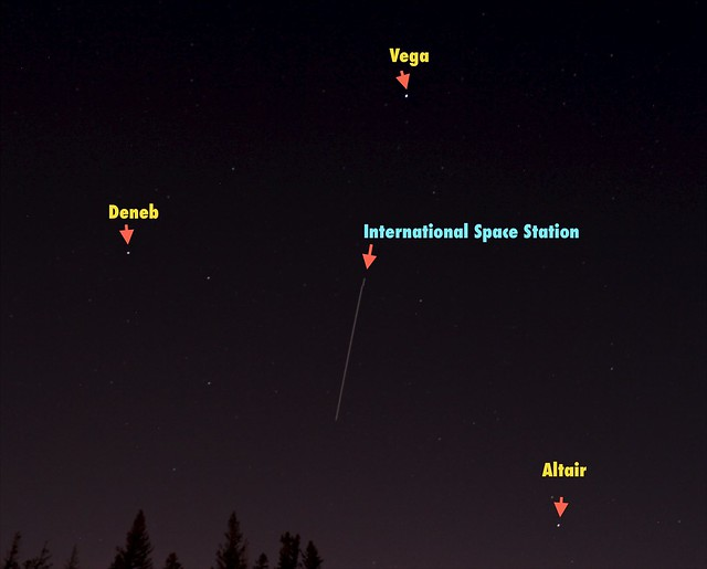 int space station fly over -#main