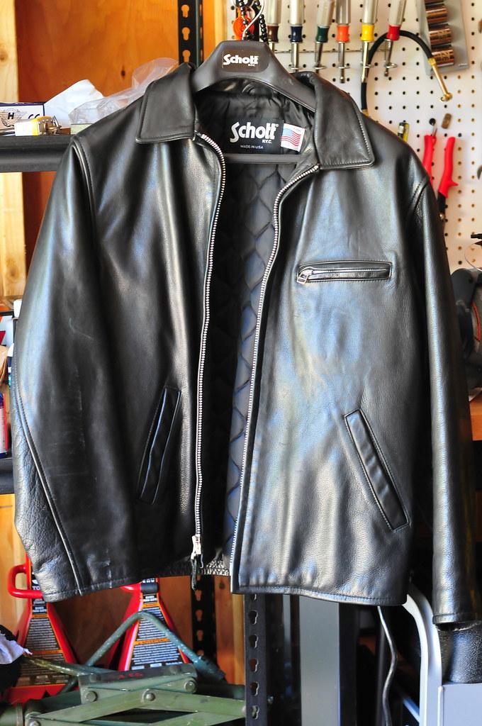 Schott 613 sz 48 and Schott 135 sz 42 - Harley Davidson Forums