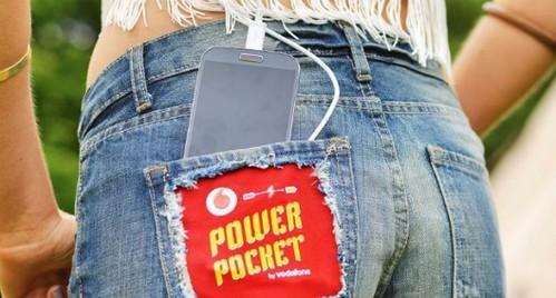 Шорты и спальный мешок Vodafone превращают тепло человеческого тела в электричество