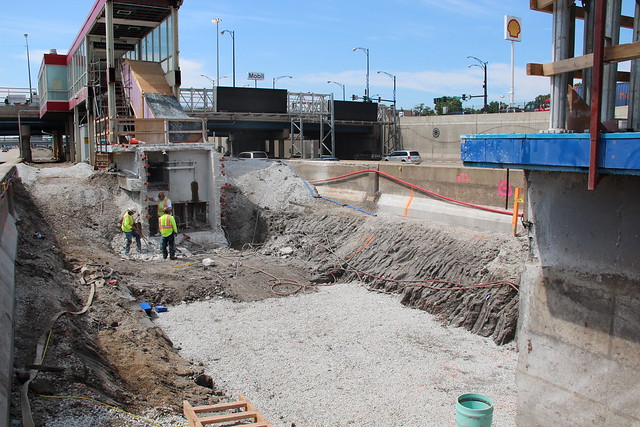 Red Line South Reconstruction Work