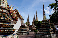 Wat Pho outer courtyard