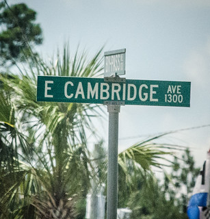 Cambridge Street Sign