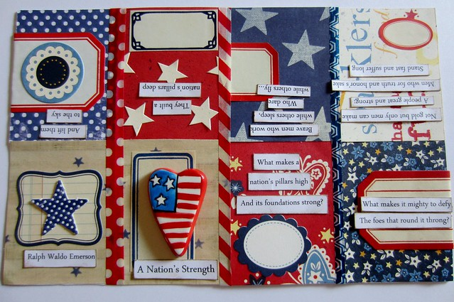 Red, White, & Blue Tiny Book 2