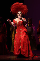 Sarah Lynn Marion as Mrs. Dolly Gallagher Levi in Hello, Dolly