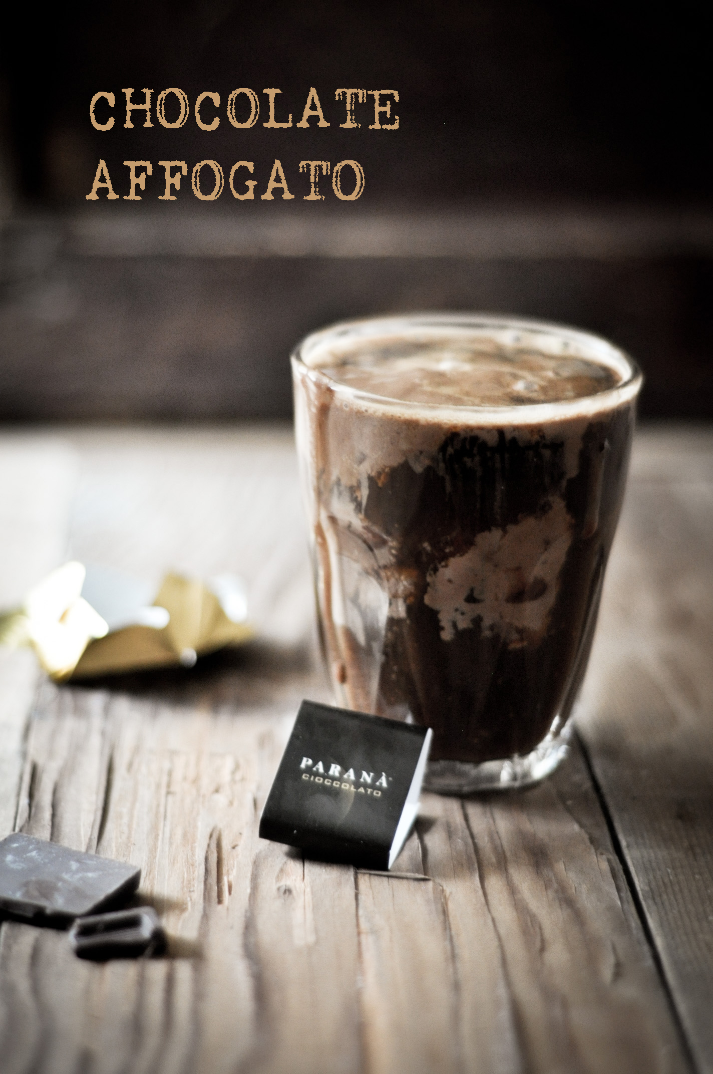 CHOCOLATE AFFOGATO