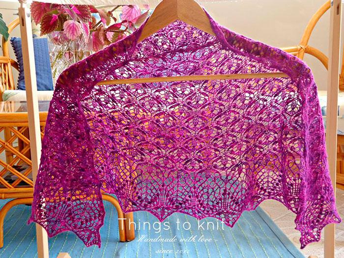 echo flowers shawl
