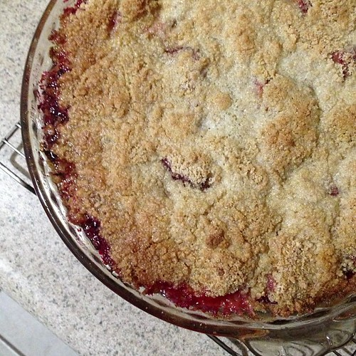 Crumble is done!