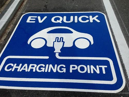 EV充電スポットがますます増えて便利に