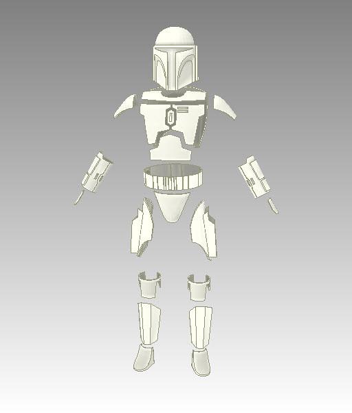 Clone Trooper Armor Pepakura Files For Mac