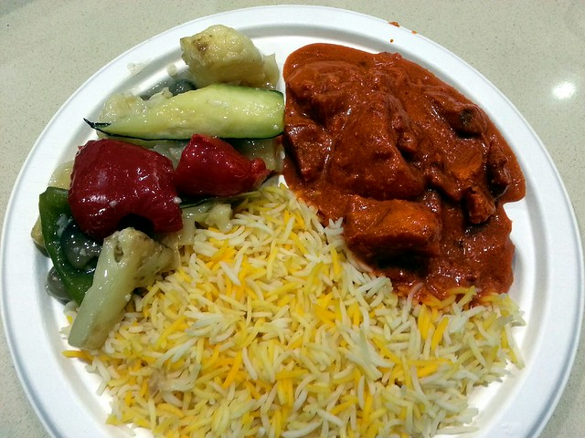 Butter chicken, mixed vegetables, basmati rice AUD8.90 - Chilli Mama ...