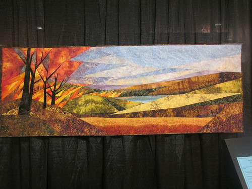 """Prairie Fire"" by Ruth Powers of Carbondale, KS"
