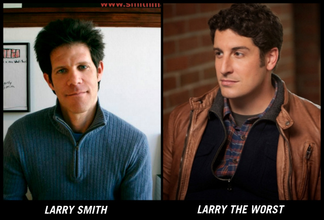larry the worst! versus real life larry smith