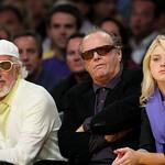 Lou Adler and Jack Nicholson