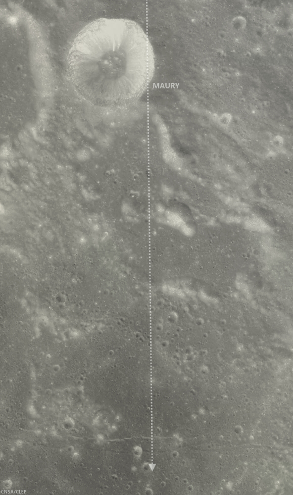 Maury crater - Chang'e-2