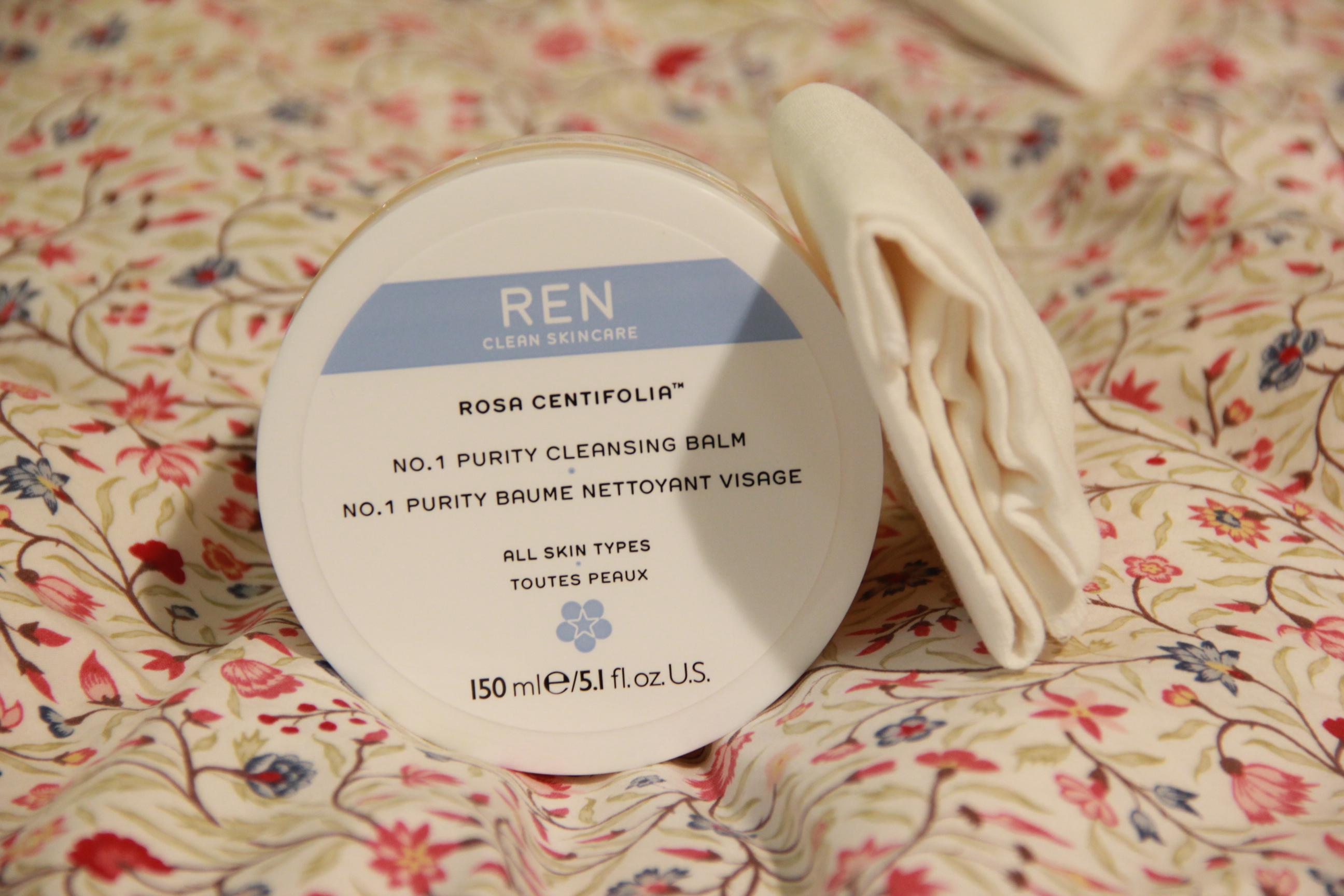 Ren Purity Cleansing Balm