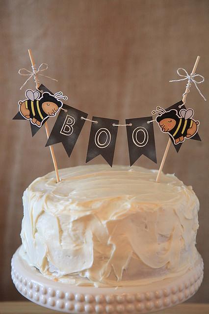 Halloween Cake, Boo