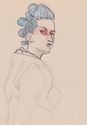 Dr Sketchy's : Stare