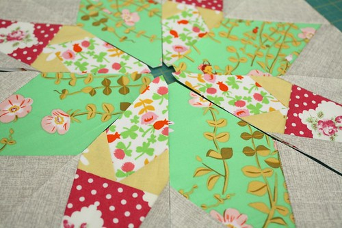 Paper piecing makes me happy :)