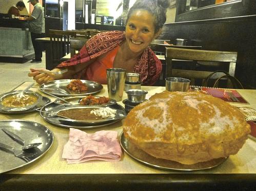 """Big Bread"" as big as Lina's head!"