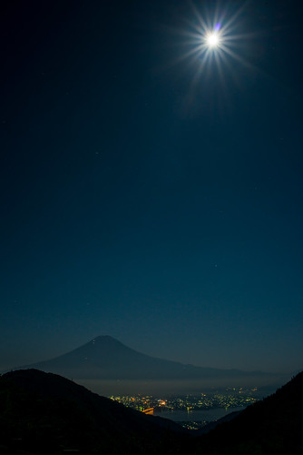 japan fuji fullmoon getty nightview crazyshin array 中秋の名月 2013 富士河口湖町 天下茶屋 distagont2825zf order500 御坂道 nikond800e pearlfuji 20130920d036058 9832363884