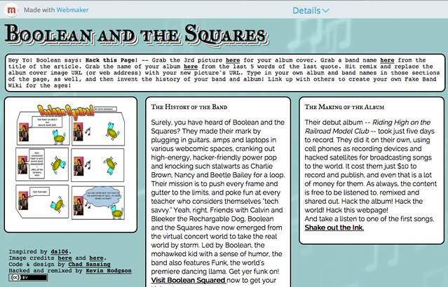 Boolean and the Squares