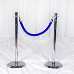 Blue Stanchion Rope