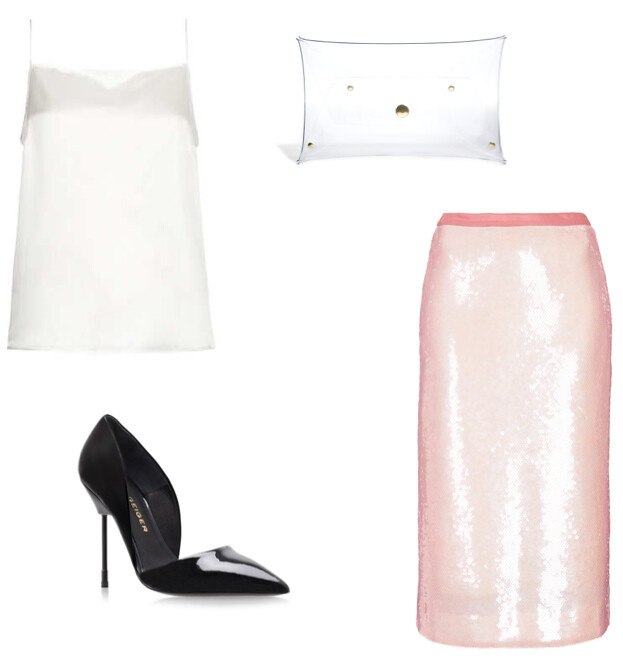 How to wear pink at night