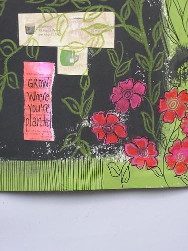 Chalkboard Art - Art Journaling Magzine