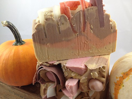 Pumpkin Spice soap by The Daily Scrub