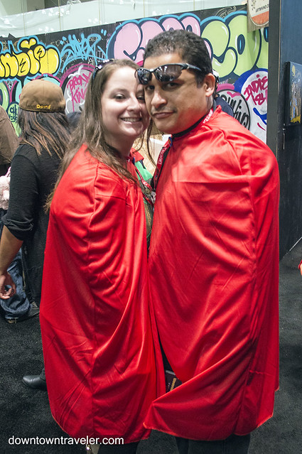 NY Comic Con Couples Costume Superman