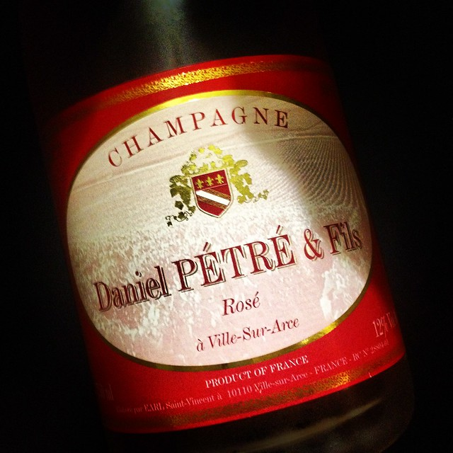 #ChampagnePetre Rosé