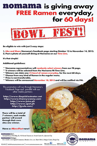 nomama bowlfest